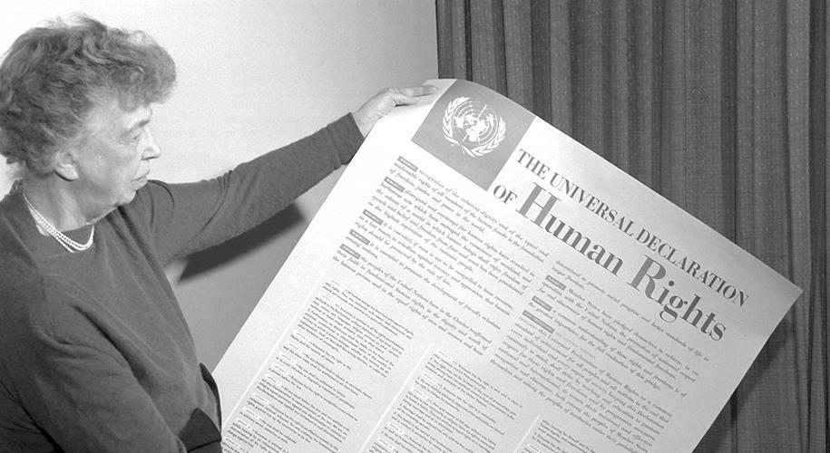 Universal Human Rights - Eleanor Roosevelt